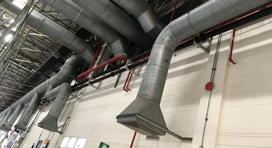 sistemas de exaustão de ar